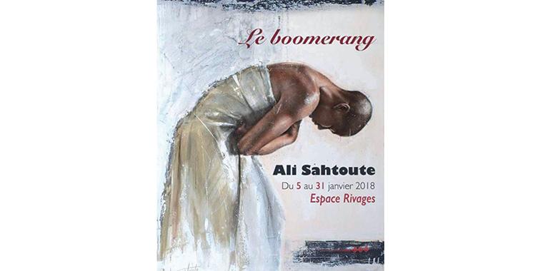 «Le boomerang» de Ali Sahtoute à la Fondation Hassan II pour les MRE