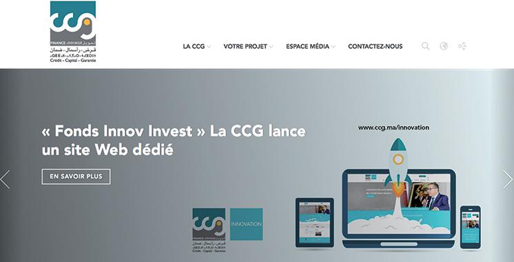 Caisse centrale de garantie : Un site web pour le Fonds Innov Invest