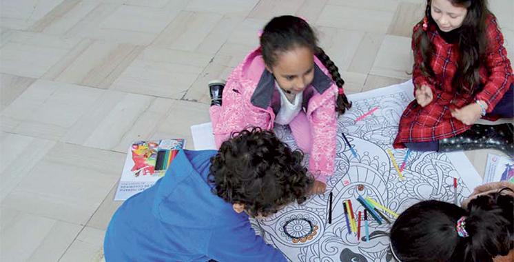 Une 2e édition de la semaine de l'art et du coloriage à Rabat à l'initiative de Harwan