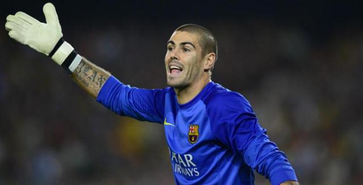 Victor Valdes, ex-gardien du Barça, tire sa révérence