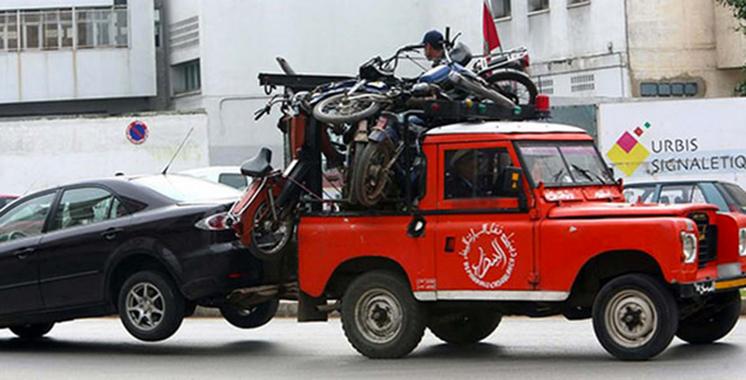 DGSN : Mise en fourrière municipale de plus de 5.500 véhicules