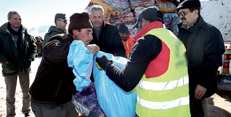 Vague de froid : Distribution de 6.300 fours pour un budget de 6,5 millions DH