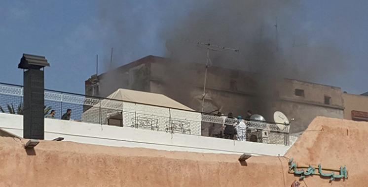 Quatre blessés dans l'incendie d'une maison à Rabat
