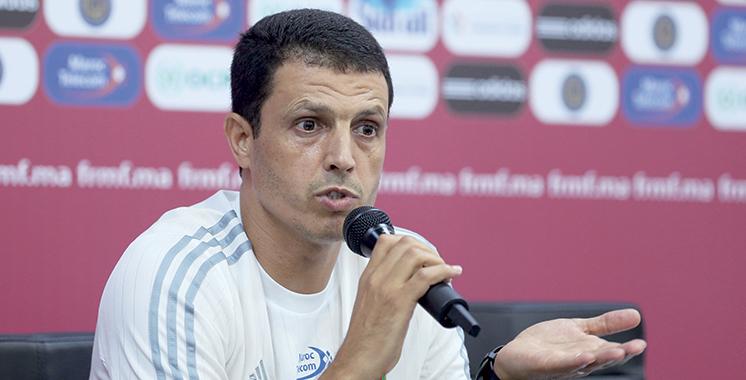 Jamal Sellami lors d'un point de presse : «Nous avons réalisé l'objectif du premier tour :  Terminer en tête du groupe et rester à Casablanca»