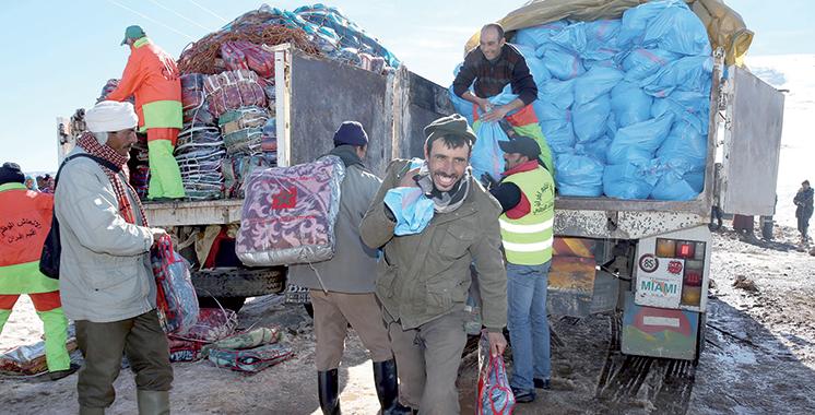 Vague de froid : Hautes instructions royales  pour redoubler d'efforts