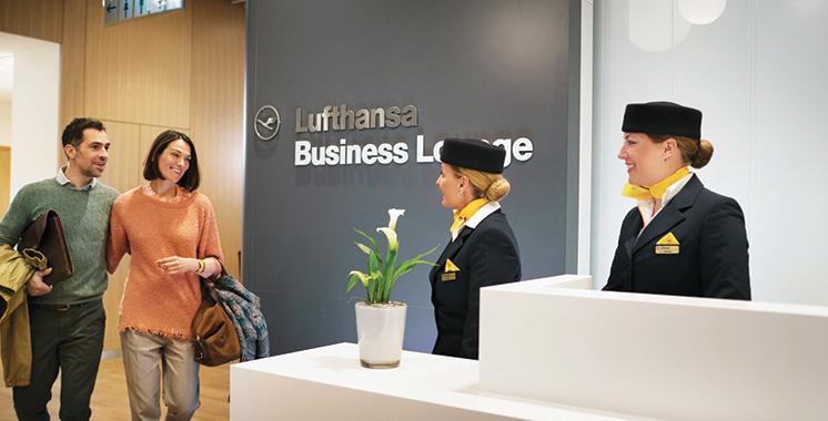 Lufthansa lance le service «LoungeNet» au profit de ses clients