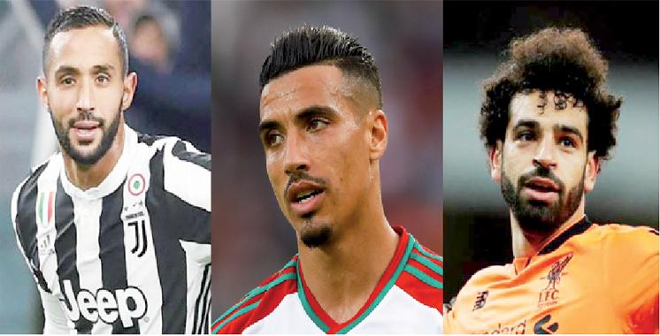 Meilleur joueur arabe de l'année : Mohamed Salah s'impose et Dirar et Benatia dans l'équipe type
