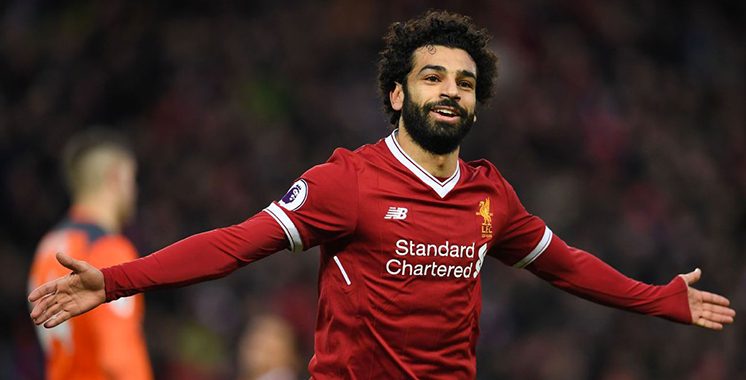 L'Egyptien Mohamed Salah élu meilleur joueur arabe de l'année
