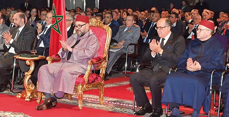 Le Roi préside la présentation du Plan régional d'accélération industrielle — Souss-Massa