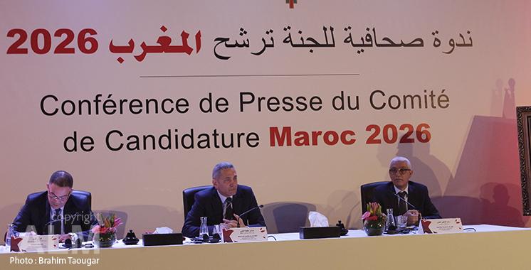 Maroc-2026 : réunion entre le Comité de candidature et une délégation de la FIFA à Rabat