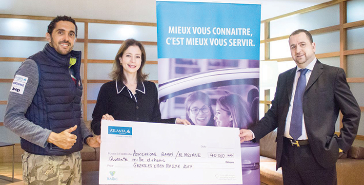 Rallye Gazelles & Men :  Atlanta Assurances honore  ses engagements