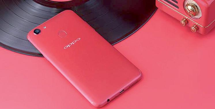 Oppo dévoile son Oppo F5 «6Go Red» en édition limitée