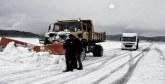Chutes de neige :  Forte mobilisation pour fluidifier la circulation routière à Tinghir