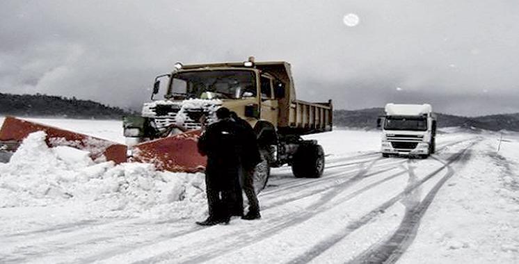 A cause des chutes de neige «exceptionnelles» : Plus de 5.000 kilomètres de routes  fermés durant cette année