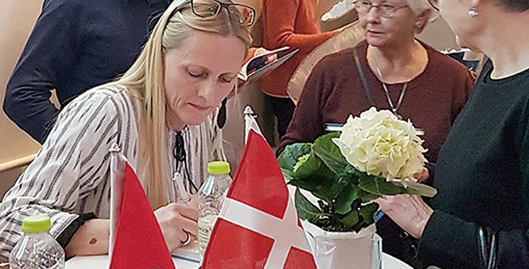 Signature à Copenhague d'un beau livre sur «Marrakech : goût, lieux et atmosphère»