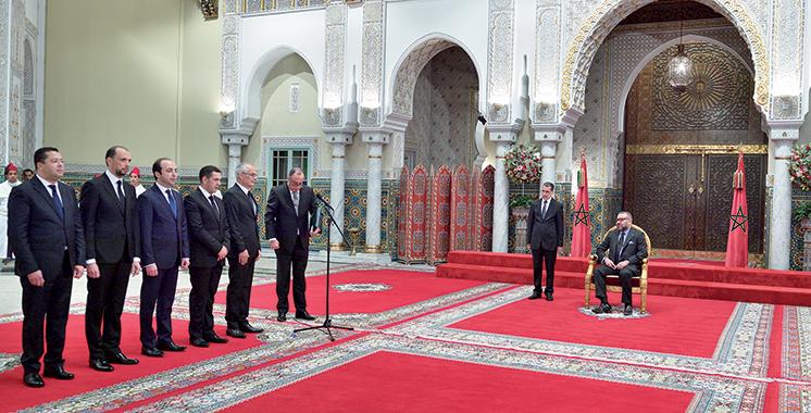 Nomination de cinq nouveaux membres du gouvernement