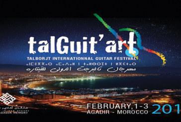 Talgit'art : La guitare  et le quartier Talborjt  à l'honneur