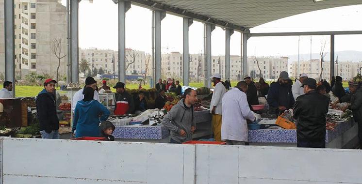 Marchés de proximité à Tanger :  Plus de 4.050 bénéficiaires recasés