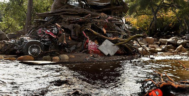 USA : 13 morts dans des coulées de boue en Californie