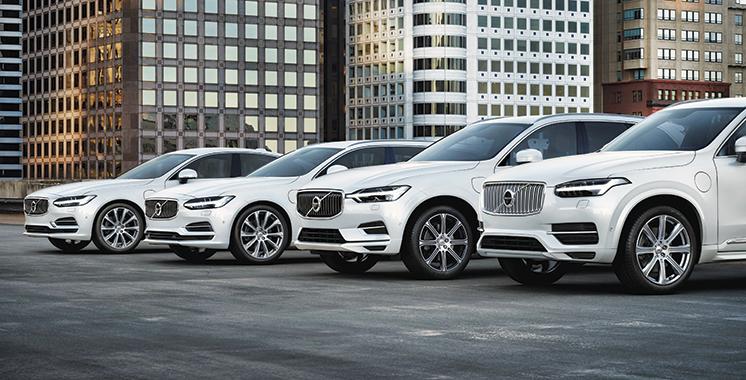 Nouveau record de ventes pour Volvo  Cars en 2017