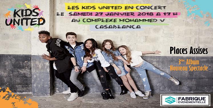 Kids United de retour au Maroc