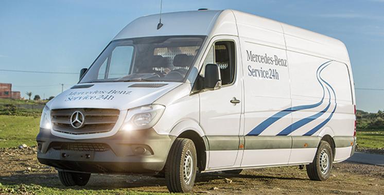 Mercedes-Benz Trucks Maroc lance le «service24h»