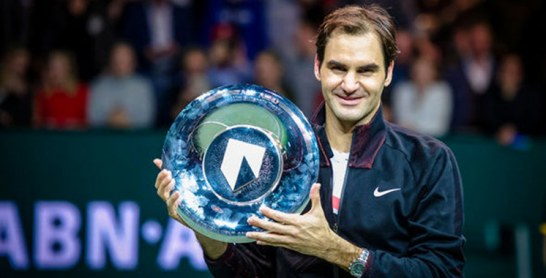 Rotterdam : Roger Federer remporte son 97e titre