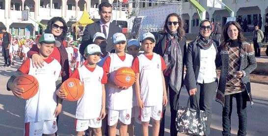 En partenariat avec TIBU Maroc : Vivo Energy inaugure de nouveaux centres de basket-ball
