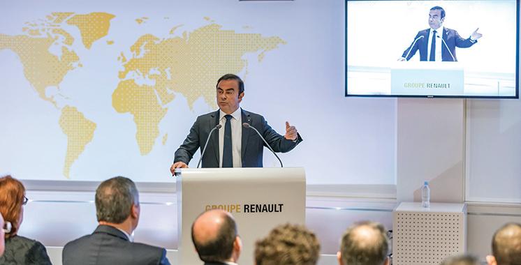 Groupe Renault : Résultats financiers records en 2017