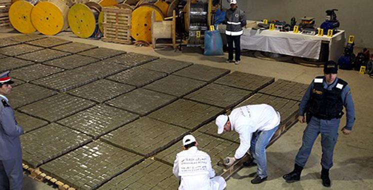 El Jadida: Saisie par la Gendarmerie royale de 4 tonnes de chira