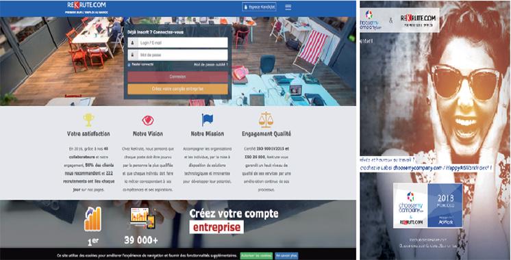 Bonheur au travail : ReKrute lance le label choosemycompany.com / HappyAtWorkIndex® au Maroc