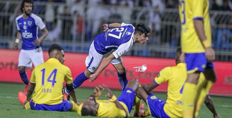 Arabie Saoudite : Achraf Bencherki marque pour son premier match avec Al-Hilal (vidéo)