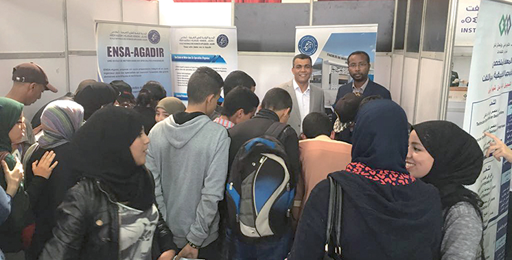 Agadir : Plus de 145 exposants au Forum de l'étudiant