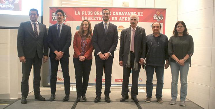 Basket-ball : TIBU Maroc lance la plus grande caravane en Afrique
