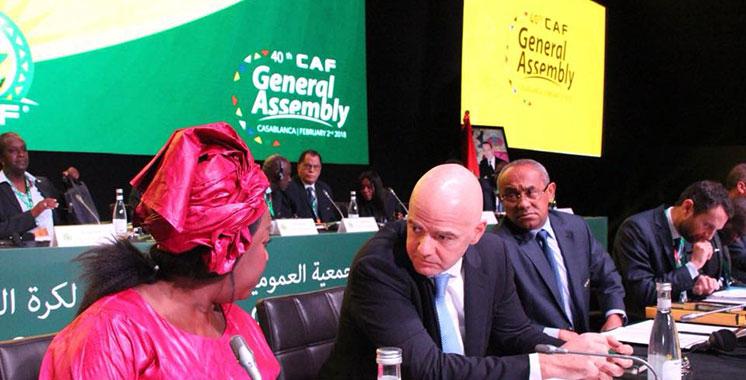 CAF: Lancement à Casablanca des travaux de la 40ème Assemblée générale ordinaire