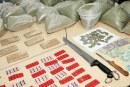 Casablanca : Saisie de 1.050 comprimés Rivotril et 70 g de haschich