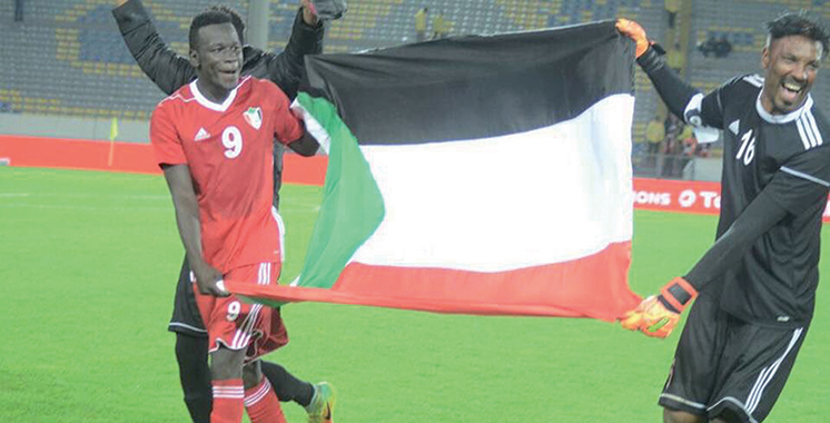 Le Soudan termine sur le podium
