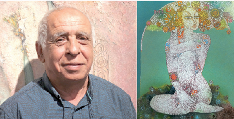 Exposition «Hommage à ELLES»  de Aziz Sayed à Casablanca