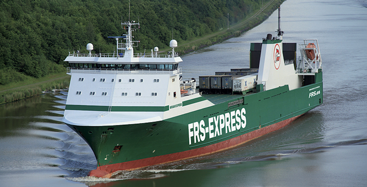 Le nouveau Ro-Ro de FRS présenté à Fruit Logistica