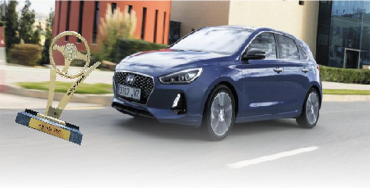 9ème édition des Trophées de l'automobile : Hyundai i30 élue «Meilleure Moyenne» de l'année
