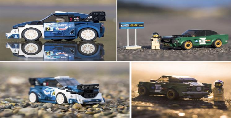 Championne du monde des rallyes : La M-Sport Ford Fiesta WRC disponible en Lego