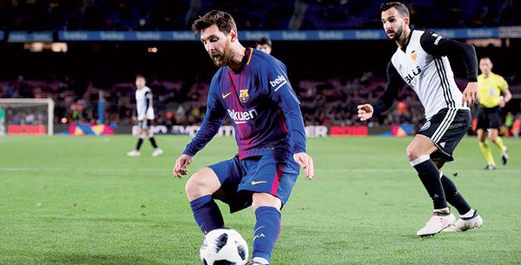 Le FC Barcelone fort d'un léger avantage