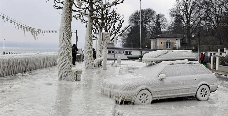 L'Europe traversée par une vague de froid sibérien