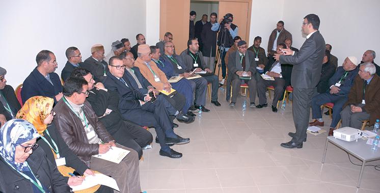Ouarzazate accueille la deuxième étape : Les concertations sur l'élaboration du SRAT  et du PDR du Drâa-Tafilalet se poursuivent