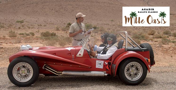 Les passionnés de voitures classiques au rendez-vous du Rallye Mille oasis