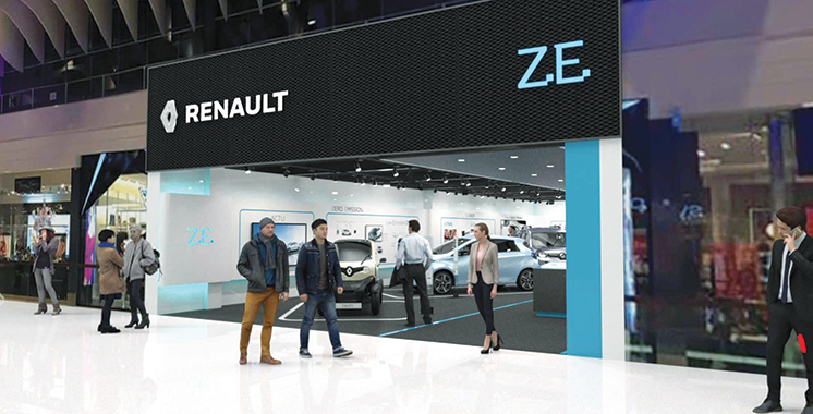 Renault inaugure son premier concept store dédié au véhicule électrique