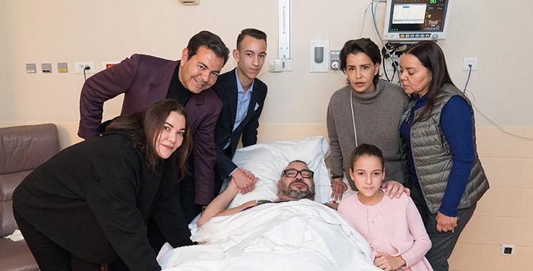 Paris : Le Roi Mohammed VI opéré avec succès suite à un trouble du rythme cardiaque