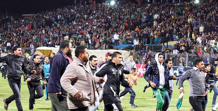 Egypte : Retour du public aux terrains pour la première fois depuis 2012