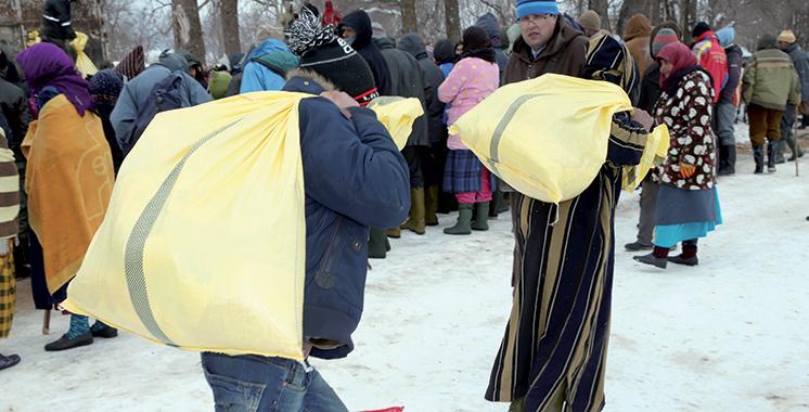 Vague de froid : 51.710 familles bénéficiaires d'aides dans plusieurs provinces