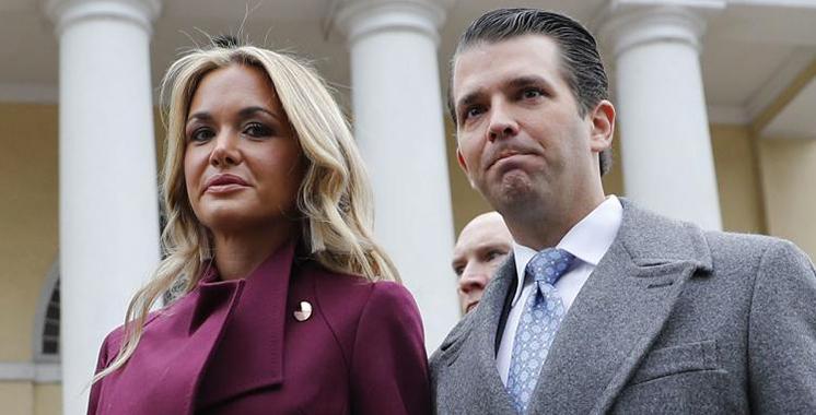 """La belle fille du président Trump hospitalisée à cause d'une """"poudre blanche"""""""